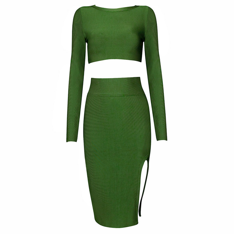 Keisha Green Two Piece Set