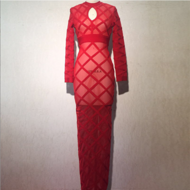 Rita Red Bandage Dress