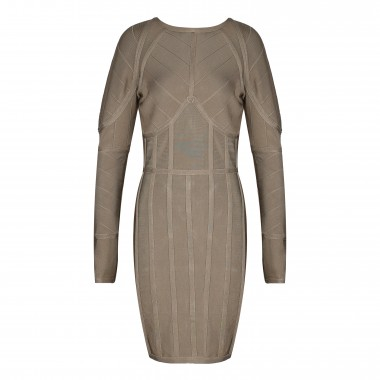 Susan Bandage Dress- Grey